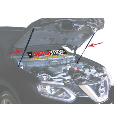 Амортизатор (упор) капота на Nissan X-Trail UNIXTR011