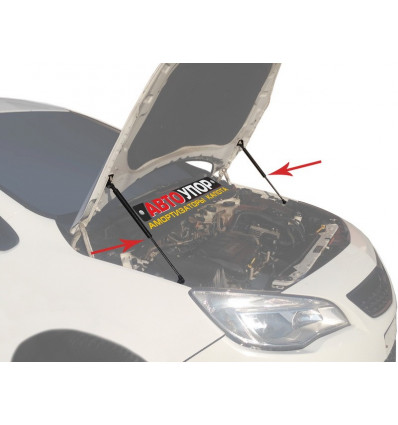 Амортизатор (упор) капота на Opel Astra UOPAST011