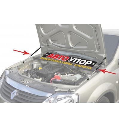 Амортизатор (упор) капота на Renault Logan URELOG012