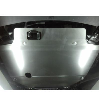 Защита картера двигателя и кпп на Opel Antara 10.758.C2
