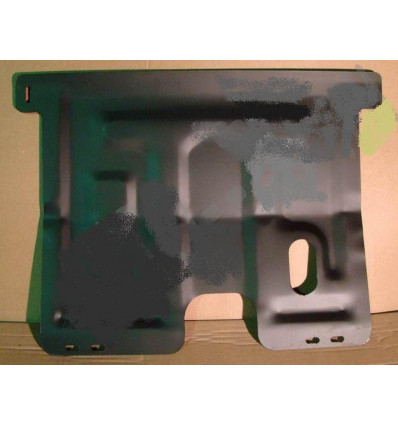 Защита картера двигателя и кпп на Daewoo Matiz 19.136.C2