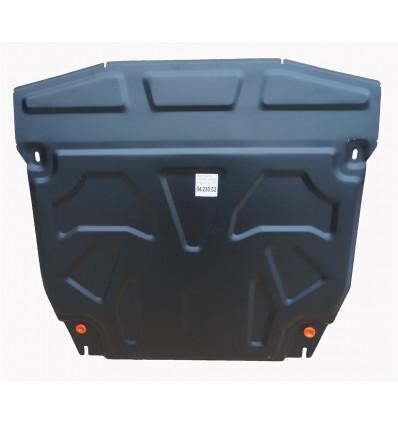 Защита картера двигателя и кпп на Hyundai Santa Fe 04.230.C2