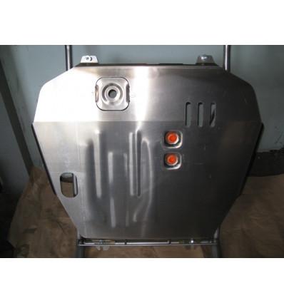 Защита картера двигателя и кпп на Mitsubishi Lancer 01.282.C2