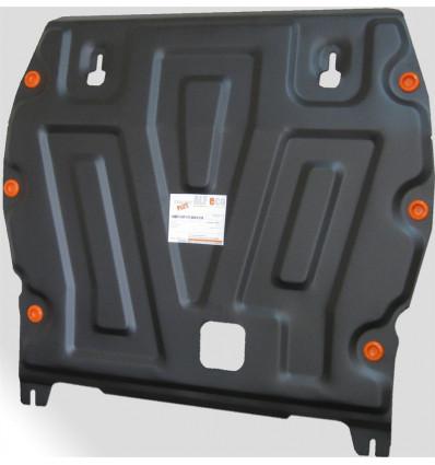 Защита картера двигателя и кпп на Nissan Juke 07.722.C2