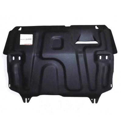 Защита картера двигателя и кпп на Skoda Rapid 25.419.C2