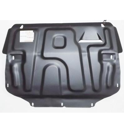 Защита картера двигателя и кпп на Volkswagen Caddy 25.401.C2