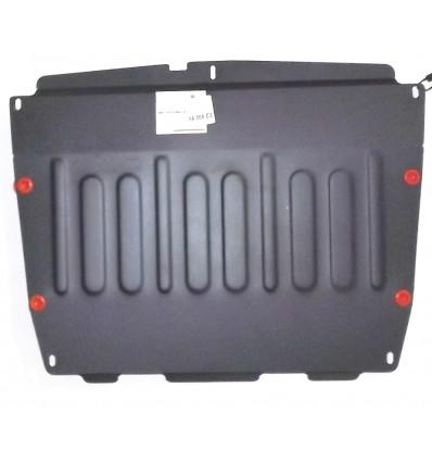 Защита картера двигателя и кпп на Ssang Yong Action 14.308.C3