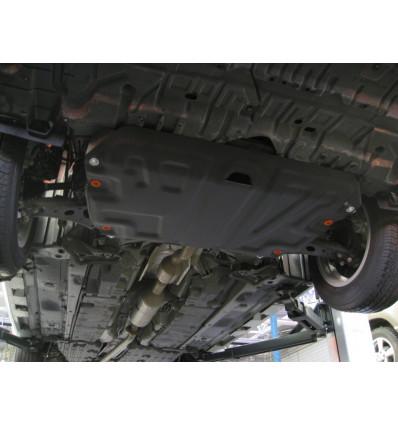 Защита картера двигателя и кпп на Toyota Highlander 09.739.C2