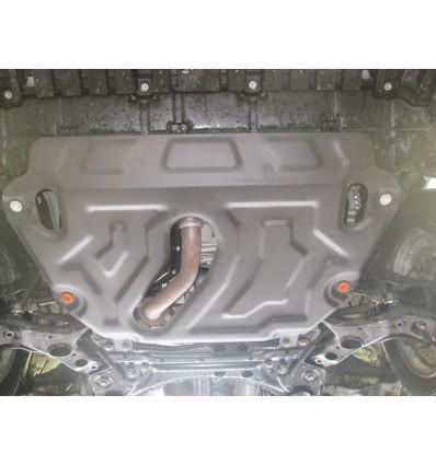 Защита картера двигателя и кпп на Toyota Rav4 09.740.C2