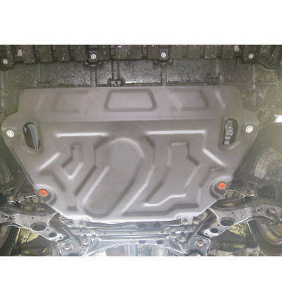 Защита картера двигателя и кпп на Toyota Rav4 09.757.C2