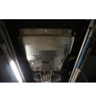 Защита картера двигателя и кпп на Mercedes A 13.05ABC