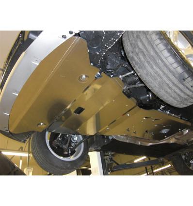 Защита картера двигателя и кпп на BMW X1 34.05ABC