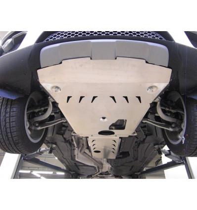 Защита картера двигателя и кпп на BMW X6 34.01ABC
