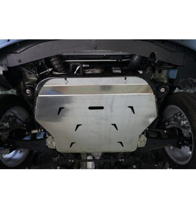 Защита картера двигателя и кпп на Chevrolet Captiva 04.08ABC