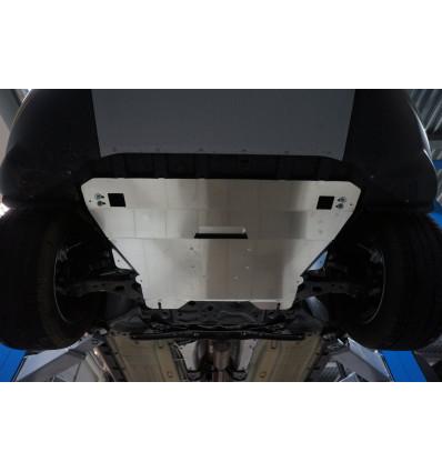 Защита картера двигателя и кпп на Ford Kuga 08.09ABC