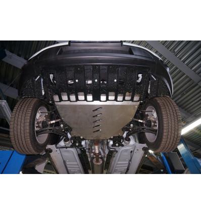 Защита картера двигателя и кпп на Ford Explorer 08.11ABC