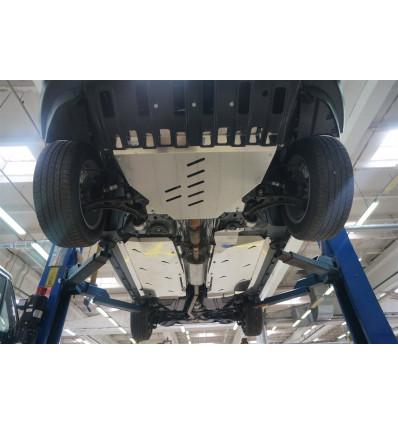Защита картера двигателя и кпп на Ford Explorer 08.16ABC