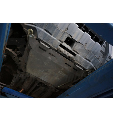 Защита картера двигателя и кпп на Honda CR-V 09.04ABC
