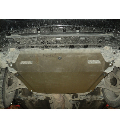 Защита картера двигателя и кпп на Honda Crosstour 09.07ABC