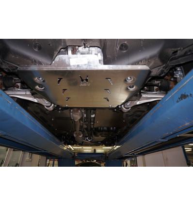 Защита картера двигателя и кпп на Honda Pilot 09.08ABC