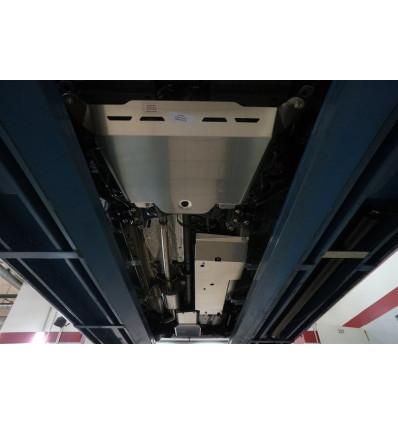 Защита картера двигателя и кпп на Honda CR-V 09.31ABC