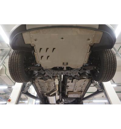 Защита днища на Hyundai Santa Fe 10.15ABC