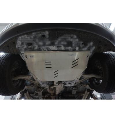 Защита картера двигателя и кпп на Nissan Teana 15.17ABC