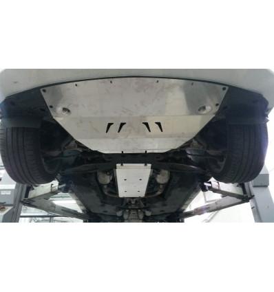 Защита картера двигателя и кпп на Infiniti Q50 15.30ABC