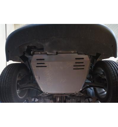 Защита картера двигателя и кпп на Jeep Liberty 04.09ABC