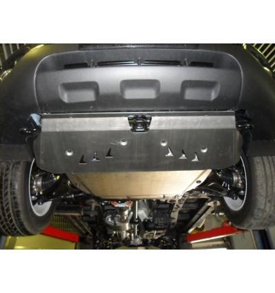 Защита картера двигателя и кпп на Kia Sorento 11.04ABC