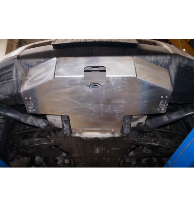 Защита картера двигателя на Land Rover Discovery 35.06ABC