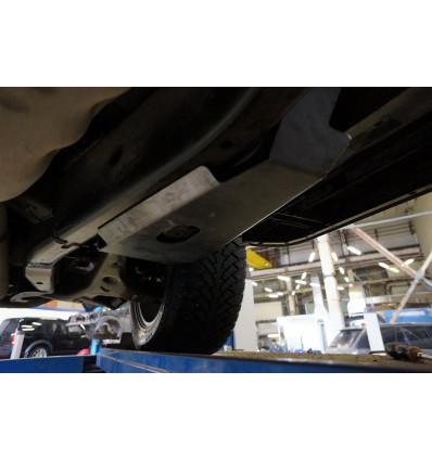 Защита помпы подвески на Land Rover Discovery 35.16ABC