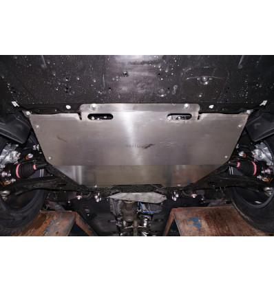 Защита картера двигателя и кпп на Mazda 3 12.06ABC