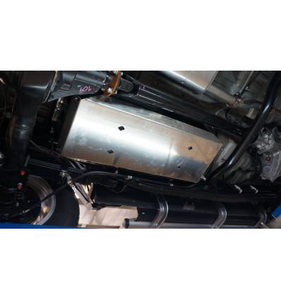 Защита топливно бака на Mitsubishi L200 14.06ABC