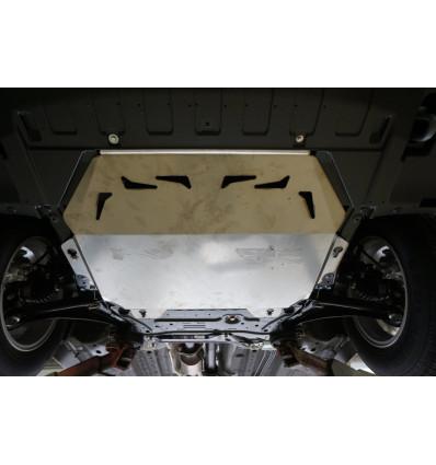 Защита картера двигателя и кпп на Mitsubishi Outlander 14.14ABC