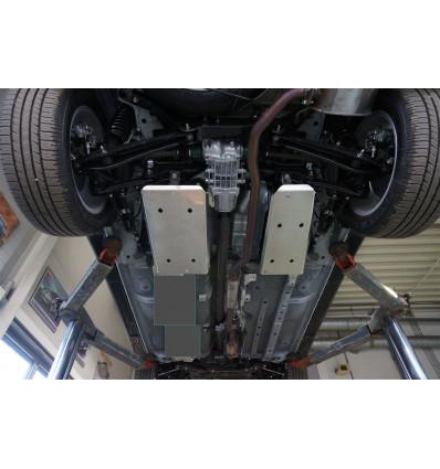 Защита бензобаков на Mitsubishi Outlander 14.19ABC