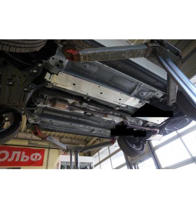 Защита топливных трубок на Mitsubishi Outlander 14.18ABC