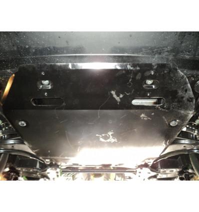 Защита картера двигателя и кпп на Nissan Juke 15.13ABC