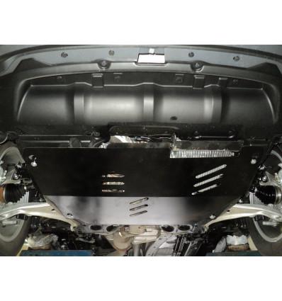 Защита картера двигателя и кпп на Nissan Murano 15.15ABC