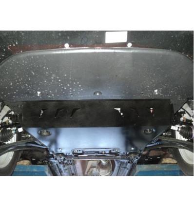 Защита картера двигателя и кпп на Nissan X-Trail 15.16ABC