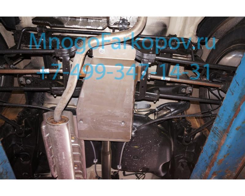 Защита редуктора на рено дастер 24