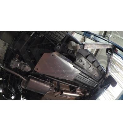 Защита топливного бака на Nissan Terrano 28.05ABC