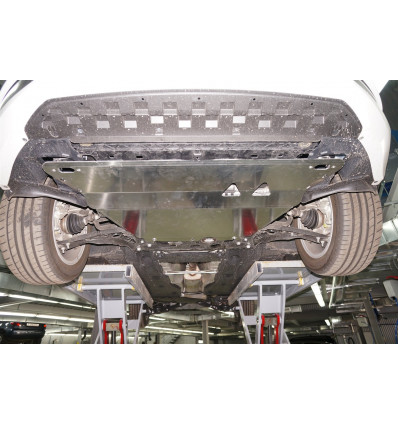 Защита картера двигателя и кпп на SVolkswagen Golf 7 21.03ABC