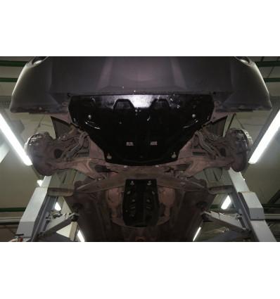 Защита картера двигателя и кпп для Infiniti QX70 15.23k