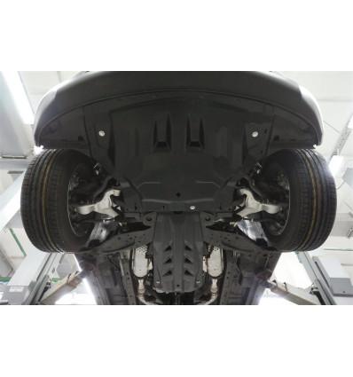 Защита картера двигателя и кпп для Infiniti QX50 15.08k