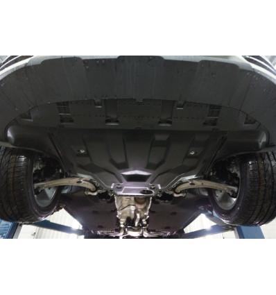 Защита картера двигателя и кпп для Audi Q3 02.03k