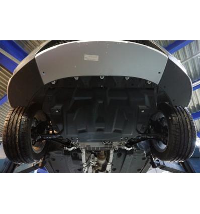Защита картера двигателя и кпп для Skoda Superb 21.04k