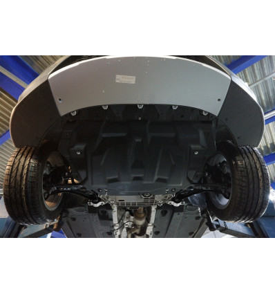 Защита картера двигателя и кпп для Skoda Yeti 21.04k