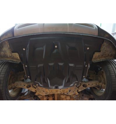 Защита картера двигателя и кпп для Hyundai Santa Fe 10.13k