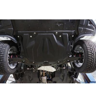 Защита картера двигателя и кпп для Mazda 3 12.06k
